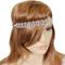 Crystal Loops Headwrap Headband Silver