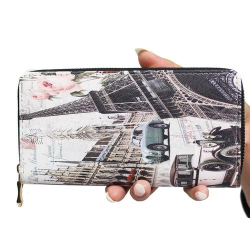 City of Love Paris Wallet Phone Holder