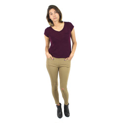Distress Canopy Jeggings Khaki One Size