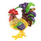 Extravagant Rooster Trinket Box