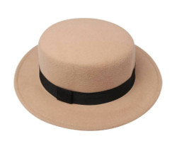 Pork Pie Hat Beige