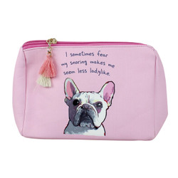 Funny Pug Print Multiuse Bag Tassels