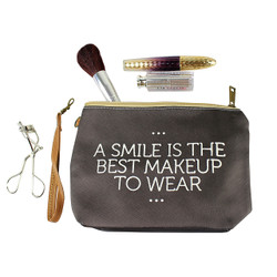 Smile is the Best Makeup Bag