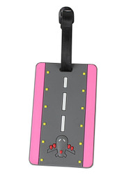 Takeoff Runway Luggage Tag