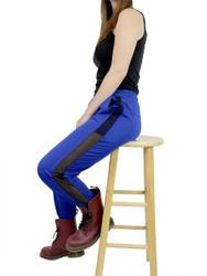 Blue Jogger Side Mesh Panel Size 8-12