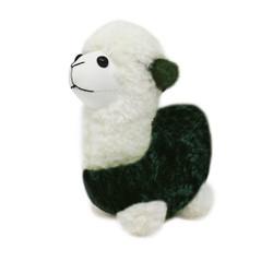 """Cute Plush Llama Keychain Purse Charm 5""""H olive"""