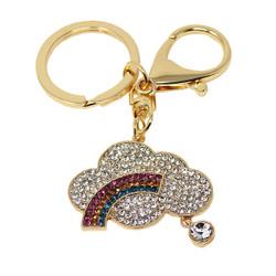 Rainbow Charm Keychain Crystals