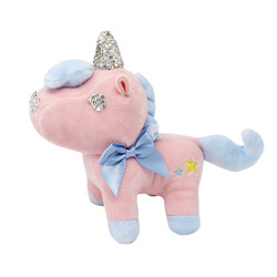 unicorn keychain plush toy
