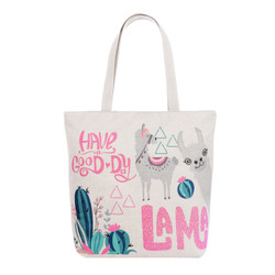 Good Day Llama Tote Beach Bag