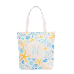 Sea Shells Tote Beach Bag