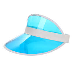 Transparent Summer Visor Blue