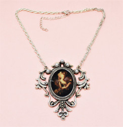 Victorian Necklace Choker Pearls