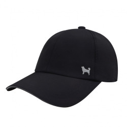 Quick Dry Sports  Baseball Hat Mesh Dog Lover Black