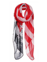 USA Flag Print Soft Scarf