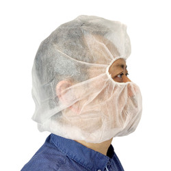 25 pc Disposable Hood Head and Hair Cover Cleanroom