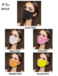 12 Piece Fashion Masks Rhinestones
