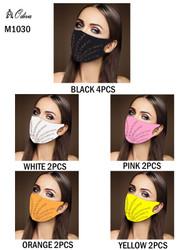 12 Piece Fashion Masks Double Fireworks