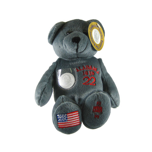 Alabama Quarter Bear