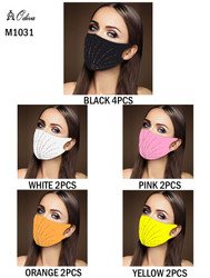 12 Piece Fashion Masks Fireworks