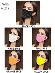 12 Piece Fashion Masks Embellished