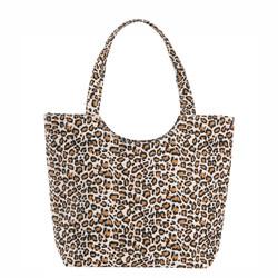 cheetah canvas bag