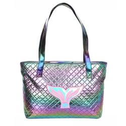 Shiny Mermaid Tail Tote Bag