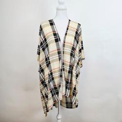 Haymarket Print Short Sleeve Kimono