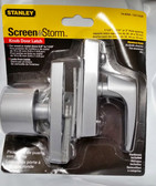 Stanley Screen & Storm Knob Door Latch Aluminum Finish 74-8258 CD1703R - FREE SHIPPING