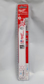 "Milwaukee 48-00-4787 9"" 14 TPI Reciprocating Metal Saw Blade, 5 blades - FREE SHIPPING"