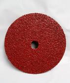 "7"" x 7/8"" Fiber Resin Sanding Disc Aluminum Oxide 24 Grit, 100 Discs - FREE SHIPPING"