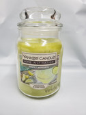 Yankee Candle Home Inspiration Perfect Margarita 19 oz Jar Candle Lot of 1 - FREE SHIPPING