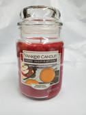 Yankee Candle Home Inspiration Apple Cinnamon Cider 19 oz Jar Candle Lot of 1 - FREE SHIPPING