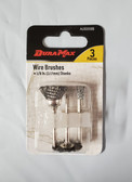 DuraMax wire Brush Set, for use with Dremel & Rotory Style Tools, 3pc set - FREE SHIPPING