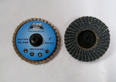 "2"" R Roloc Flap Discs 60 grit, Zirconia, 10 Discs, Free Shipping!"