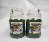 Yankee Candle Home Inspiration Balsam Fir 19 oz Jar Candle Lot of 2 - FREE SHIPPING