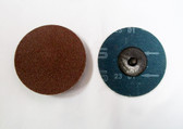 """3"""" Sandpaper Roloc Discs, 80 Grit, A/O Type R, 25 pack - FREE SHIPPING"""