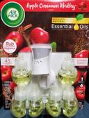 Air Wick Apple Cinnamon Medley Fragrance 1 Warmer & 6 Fragrance Refills - FREE SHIPPING