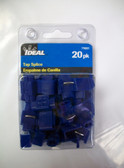 Ideal Tap Splice, Blue, 770321, 20pk, Lot of 1 - FREE SHIPPING