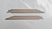 """8"""" 18 TPI Reciprocating Blade Tapered , Unpainted, Bi-Metal 100 Blades - FREE SHIPPING"""