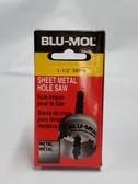 "1-1/2"" 38mm Sheet Metal Hole Saw Blu-Mol"
