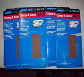 "3-2/3"" x 9"" 100 Grit 1/3 Sanding Sheets (60) sheets Norton #48310"