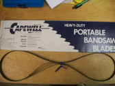 "53-3/4"" 24 TPI Capewell Portaband Bandsaw Blades 3 Pack B5324 - FREE SHIPPING"