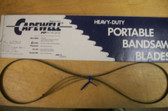 "53-3/4"" 10 TPI Capewell Portaband Bandsaw Blades 3Pack - FREE SHIPPING"