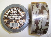 Camouflage Duct Tape 75 Feet All Purpose BROWN