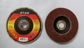 "4"" x 5/8"" Flap Discs, Type 27, AO, 25 Discs, Free Shipping!"