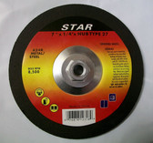 "7"" x 1/4"" x 5/8""-11 Hub Grinding Wheel for Metal Lot of 1"