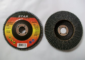 "4"" x 5/8"" Flap Discs, Type 27, ZIR, 25 Discs, Free Shipping!"