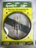 "6"" Recessed Light Installation Kit RemGrit GRL602 - FREE SHIPPING"