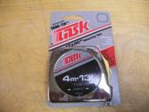 "13' / 4m Tape Measure ""T-Loc"" by Task - P5201"