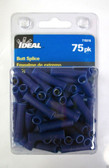 #16 - #14 Blue Butt Splice Ideal 770318, 75pk, Lot of 1